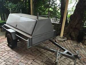 6 x 4 Box Trailer with tradesmen top Turvey Park Wagga Wagga City Preview