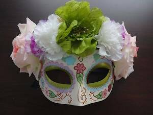 Day of the dead masquerade mask Belmont Belmont Area Preview