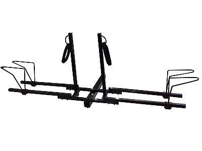 Bike Platform Hitch Rack - 2 BIKE PLATFORM RACK WITH 2'' HITCH RECEIVER BYCICLES