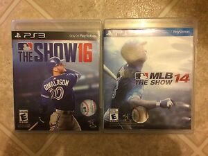 The Show 16 and MLB THE SHOW 14 FOR PS3