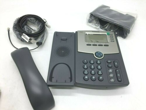 Cisco Phone SPA514G 2 Port Gigabit Ethernet PoE 4-line LCD display new box