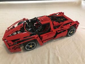 Rare Lego Technic Racers 8653 Ferrari Enzo Super Car 110 2005 Gr