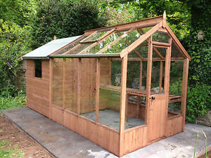 Shed Greenhouse Combo Ebay