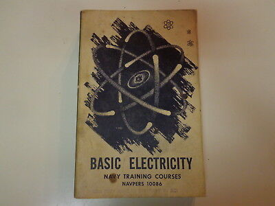 Basic Electricity - Navy Training Courses NAVPERS 10086 1956 Electrican