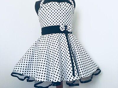 50-er Tantz Kleid für Kinder Gr 116-128 Einschulüng (Kinder Kleider Für Weihnachten)