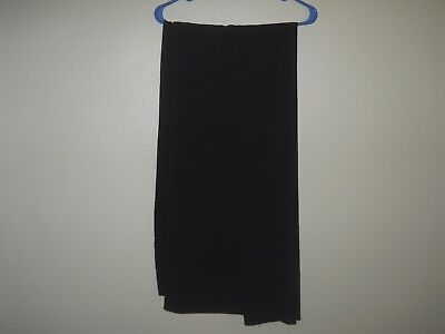 Black Polyester Tablecloth Size 90 X 108 for Rectangular Table