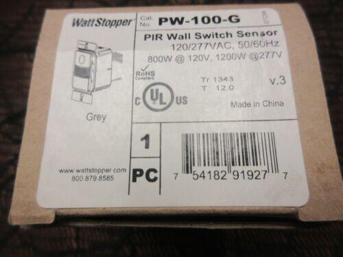 Watt Stopper PW-100-G PIR WALL SWITCH OCCUPANCY SENSOR NIB