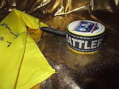 Arizona Rattlers 2013 Arena Bowl AFL Game Used Referee Yellow Flag