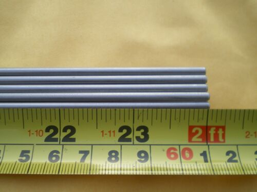 "1 PCS. STAINLESS STEEL ROUND ROD 304, 1/8"" (.125"") (3.24MM.) X 24"" LONG"