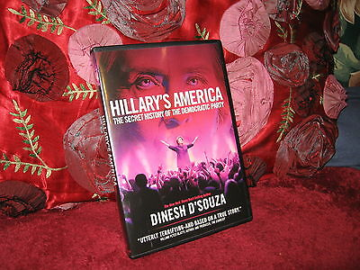 Hillarys America  The Secret History Of The Democratic Party Dinesh Dsouza Dvd