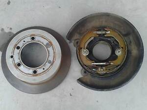Toyota Landcruiser 80 series rear right brake plate assembly. Brinsmead Cairns City Preview