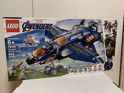 LEGO Marvel Avengers: Avengers Ultimate Quinjet Building Kit (76126)