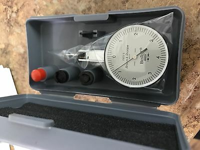 Brown And Sharpe 599-7023-6 Dial Test Indicator Set Top Mounted M1.4x0.3 Thread