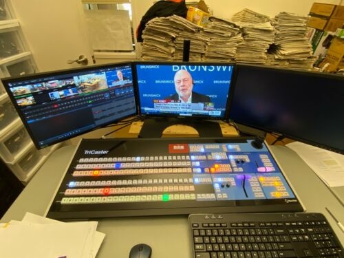 Newtek TriCaster TCXD8000  live video broadcasting studio