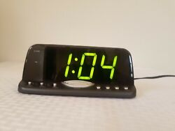 Radio Shack Large 2 LED Display extra loud Alarm Clock 63-117 tested working
