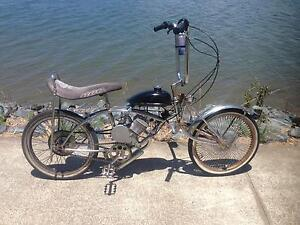 Low rider Motorised bike 80cc Dragster (old school vintage) Varsity Lakes Gold Coast South Preview