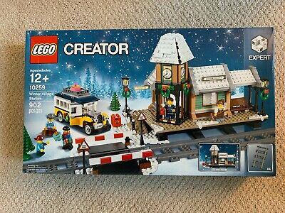 LEGO 10259 WINTER HOLIDAY STATION , BRAND NEW, SEALED