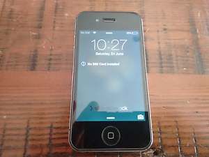 Iphone 4 perfect condition Hallett Cove Marion Area Preview