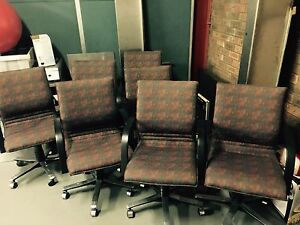 7 Office Boardroom Chairs (NOT AVAILABLE AS INDIVIDUAL ITEM) Broadmeadow Newcastle Area Preview