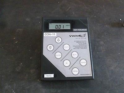 Vwr Digital Conductivity Bench Meter Model 61161-362