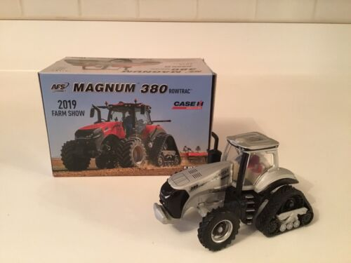 1/64 Case IH Magnum 380 Rowtrac 2019 Farm Show Silver Chase Edition