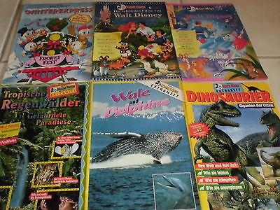 Lot 2 : 6 x MICKY MAUS  Extra Hefte , Disney Filme , Delphine ... , MM Beilagen
