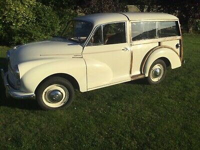 Morris Minor Traveller ..built NEW in 1982 by M.M.Centre so the NEWEST Moggie.