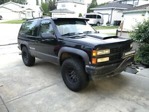 1992 Chevy blazer -Trade for quad / side by side