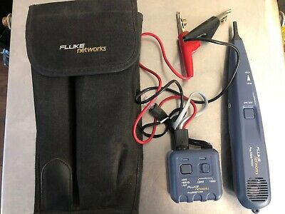 Fluke Networks Pro3000 Tone Generator And Probe Kit Smart Tone Technology