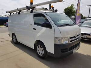 2010 Toyota Hiace Van LWB AUTO TURBO DIESEL Williamstown North Hobsons Bay Area Preview