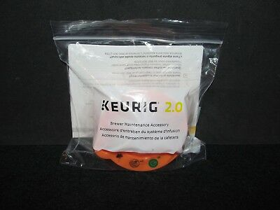 NEW Keurig 2.0 Brewer Top Needle Cleaning Maintenance Accessory K250 K350 K450