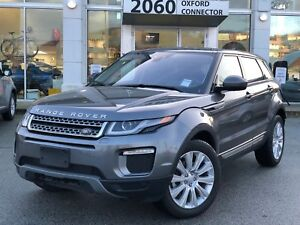 2017 Land Rover Range Rover Evoque SE, PANORAMIC ROOF, HEATED ST