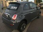 2013 Fiat 500 SPORT charcoal grey, 6 Spd manual  Greenacres Port Adelaide Area Preview