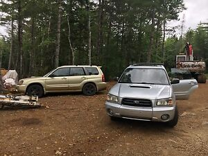 2004 forester XT part out