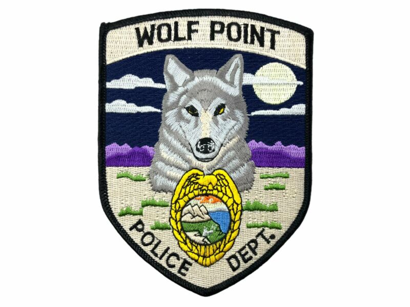 US Wolf Point Police Patch