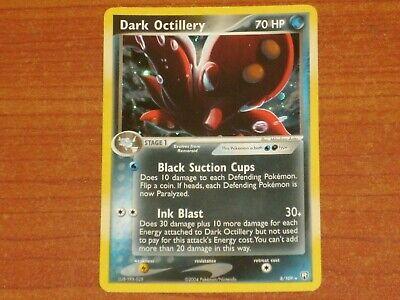 Pokemon Card: DARK OCTILLERY #8/109 HP70 EX-Team Rocket Returns Rare Holo 2004