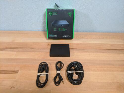 Razer Ripsaw HD Game Streaming Capture Card: 4K Passthrough - 1080P FHD 60 FPS R