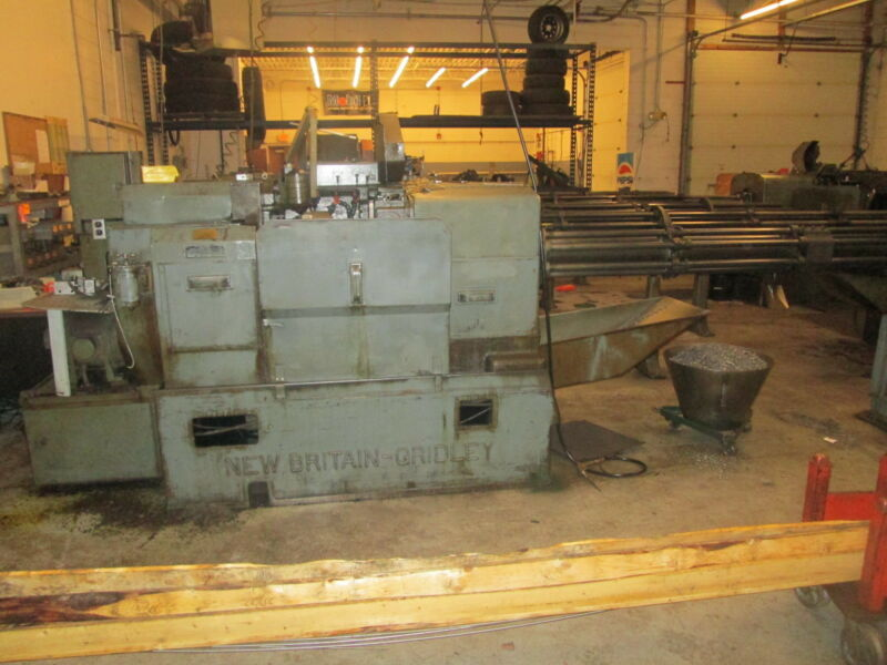 """New Britain-Gridley Model 61 1""""Cap Multi Spindle Screw Machines W/6 Turret Barfe"""