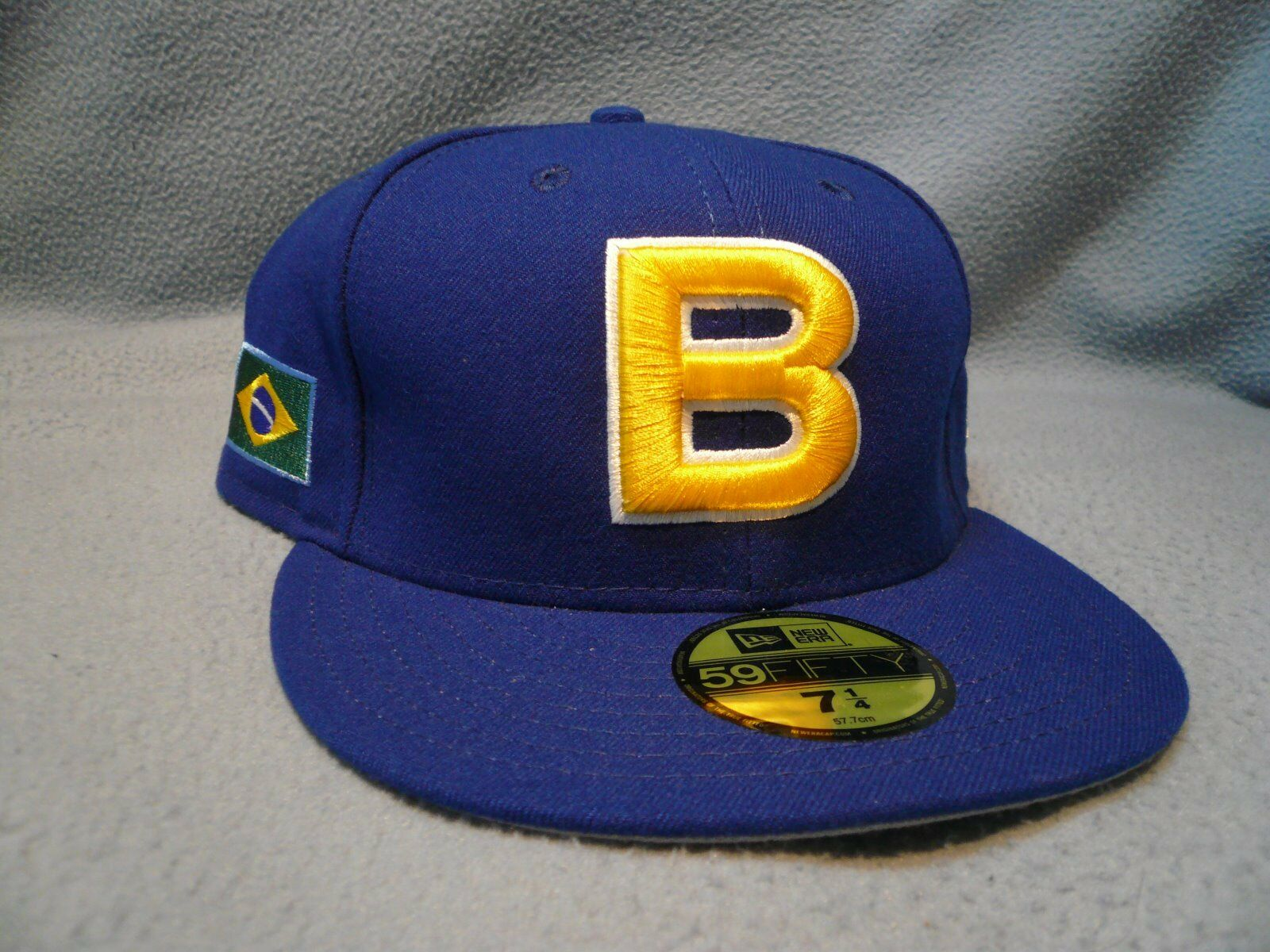 New Era 59Fifty Brazil World Baseball Classic Men Women Royal Blue Fitted hat