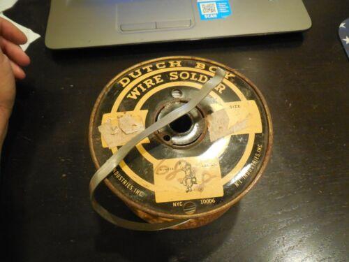 Dutch Boy Wire Solder Spool 6826  14 Pounds