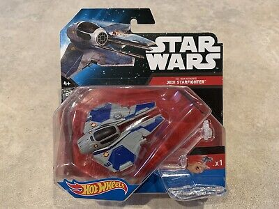 Hot Wheels Starships Star Wars Obi-Wan Kenobi's Jedi Starfighter.
