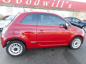 2013 Fiat 500 LOUNGE! HEATED LEATHER SEATS! BLUETOOTH!