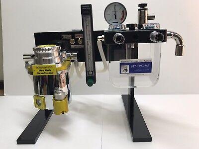 Anesthesia Machine Sevoflurane Tec 3 Vaporizer - Veterinary  Table Top