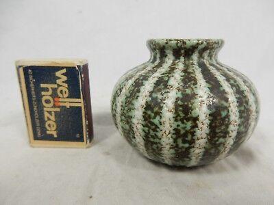 Schöne kleine / beautiful small 50´s design RUSCHA Keramik pottery Vase 837 / 1