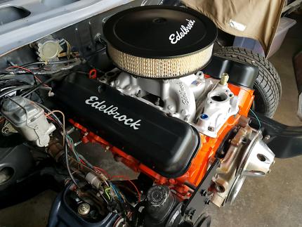 Chevy 454 Big Block 4 Bolt main