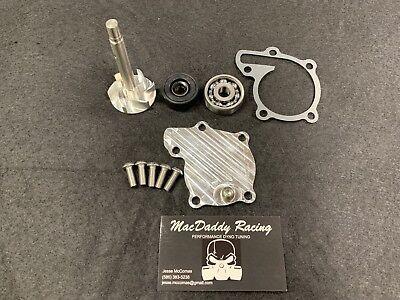 MacDaddy Racing Water Pump Rebuild Kit And Billet Cover,Yamaha Banshee 350