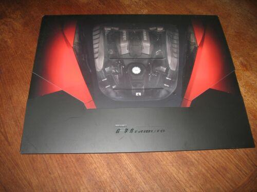 Ferrari F8 Tributo portfolio brochure large photo prints FREE usa shipping.