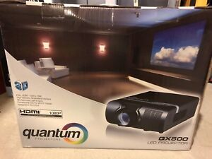 LED projector- brand new in sealed box
