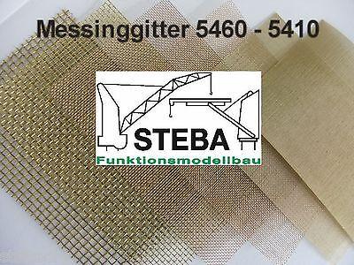 Messinggitter 1,0/0,3mm 200x150mm von STEBA 5440/2 ()