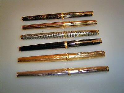 *VINTAGE PARKER SALE!*  PARKER Lot of 6 (!) near mint Premier pens!